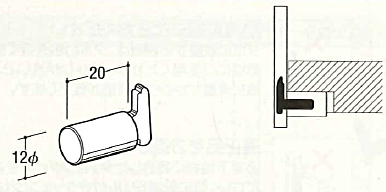 ナローサポート用ダボ ELS-12